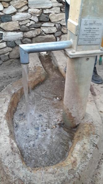 A new hand-dug W2T well in Adesifha, Tigray.